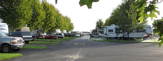 Pilot RV Park in eastern Oregon