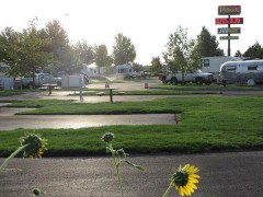 RV Park in the morning