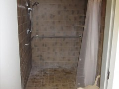 hot showers